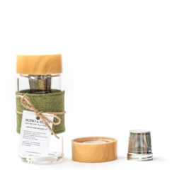 Glass Travel Cup Infusion Coffee Tea