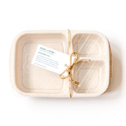 Wheat Straw Boho Bento Box Canada