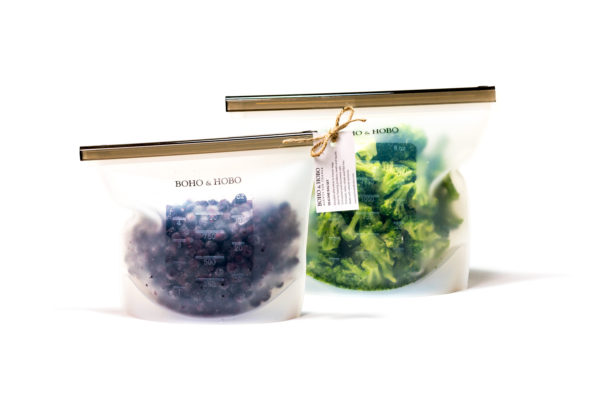 Eco-Friendly Silicone Freezer Bags