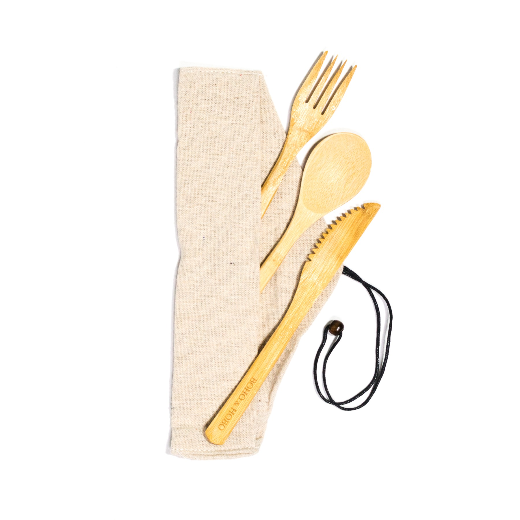 Travel Bamboo Cutlery