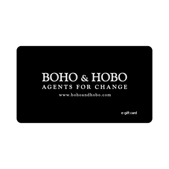 BOHO AND HOBO ECO GIFT CARD