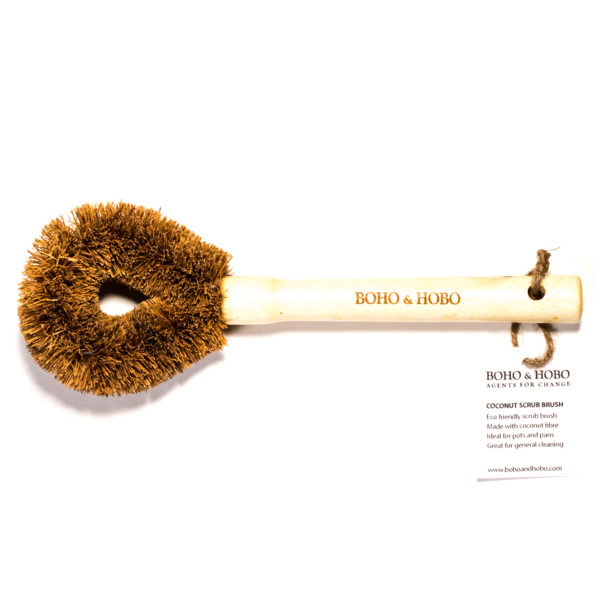 Eco-Friendly Dish Scrub Brush